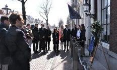Herdenking, 6 april 2018 (Foto: Emile van Aelst en Reanne van Kleef)